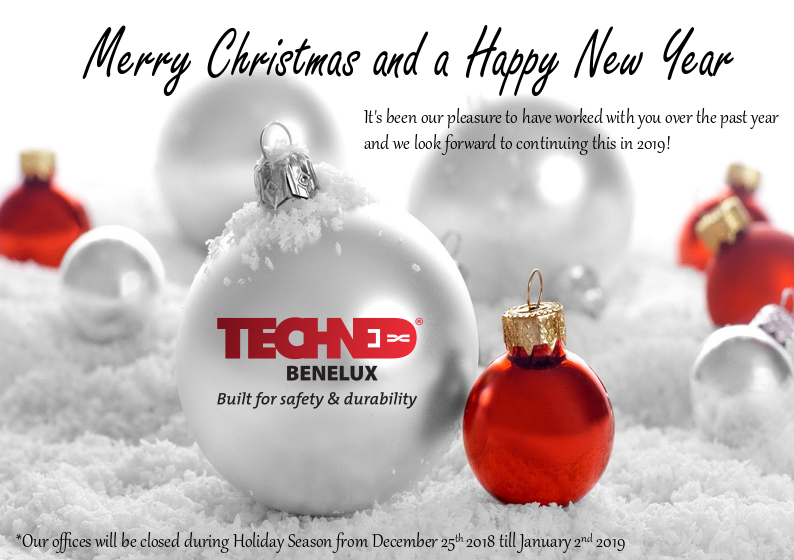 We From Techned Wish You Happy Holidays Techned Benelux